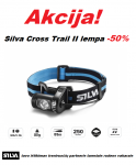 Silva Cross Trail II lempa - net 50% nuolaida!